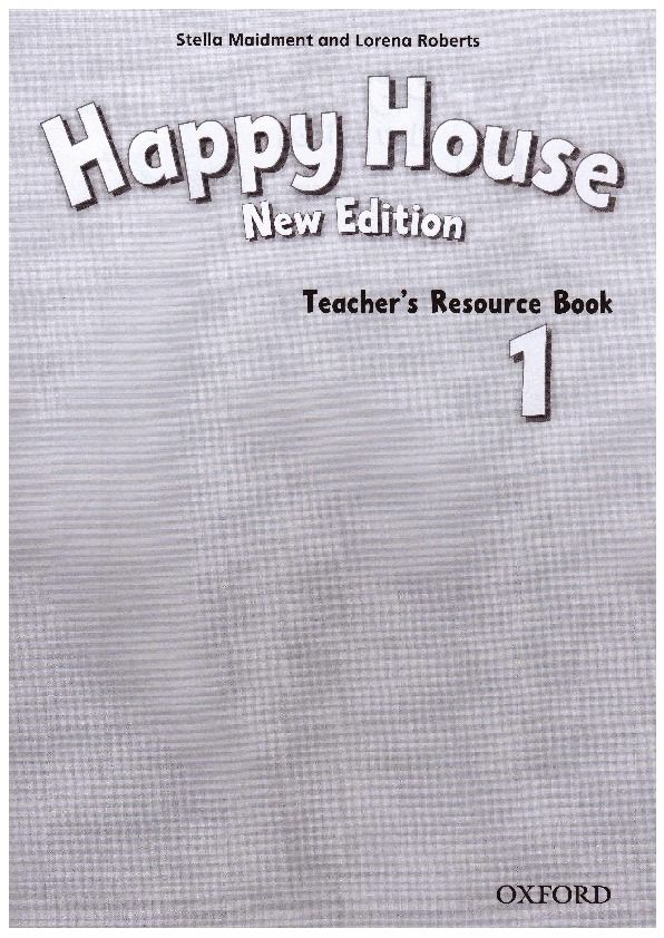 Изображение Happy House (New Edition) 1 Teacher's Resource Pack страница 1